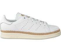 Weiße Adidas Sneaker Stan Smith Bold