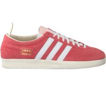 Rote Adidas Sneaker Low Gazelle Vintage W