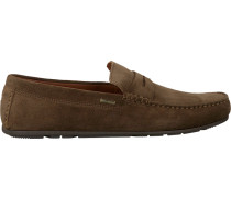 Braune Mokassins Classic Suede Penny Loafer