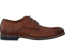 Cognacfarbene Van Lier Business Schuhe 1915611