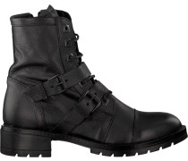 Schwarze Omoda Biker Boots 186 Sole 456