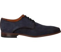Blaue Van Lier Business Schuhe 96000