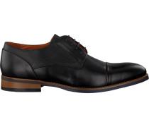 Schwarze Van Lier Business Schuhe 93204