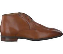 Cognacfarbene Van Bommel Business Schuhe 10950