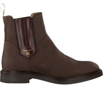 Braune Gant Chelsea Boots AshLEY