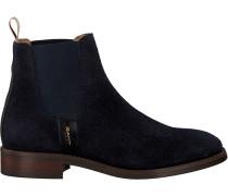 Blaue Gant Chelsea Boots Fay Chelsea