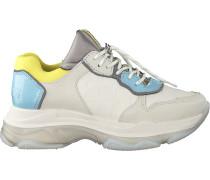 Weiße Bronx Sneaker Low Baisley