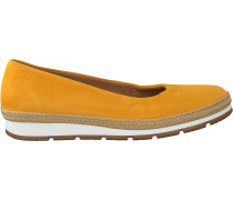 Gelbe Gabor Slipper 400.1