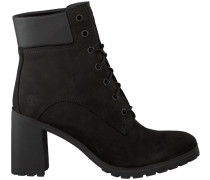 Schwarze Timberland Ankle Boots Allington 6IN Lace