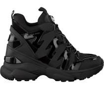 Schwarze Michael Kors Sneaker Low Issa Trainer