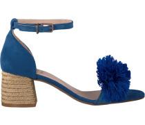 Blaue Sandalen Frs0333 Sandalet 5CM 5CM Suede