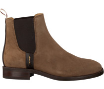 Braune Gant Chelsea Boots FAY Chelsea