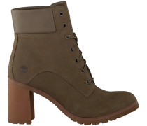 Grüne Timberland Ankle Boots Allington 6IN Lace