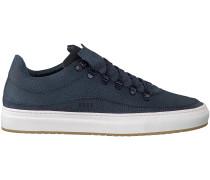 Blaue Nubikk Sneaker Julien Miele Lizard II