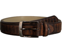 Gürtel Belt Snake Stripes