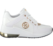 Weiße Guess Sneaker Jaryd