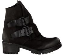 Schwarze Omoda Biker Boots 1030