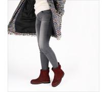 Rote Shabbies Stiefeletten 181020134