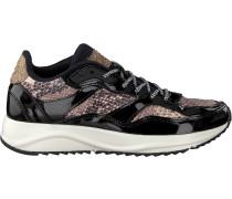 Schwarze Woden Sneaker Sophie Snake