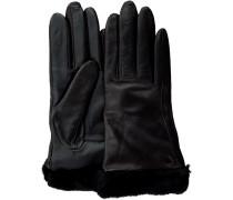 Schwarze Handschuhe Classic Leather Smart Glove