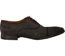 Graue Van Lier Business Schuhe 6052