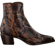 Cognacfarbene Maripe Cowboystiefel 28580