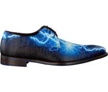 Blaue Floris Van Bommel Business Schuhe 14267