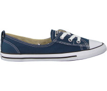 Blaue Converse Sneaker Chuck Taylor Ballet Lace