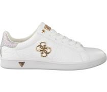 Weiße Guess Sneaker Flbys1 Lea12
