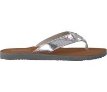 Silberne Tommy Hilfiger Pantolette Glitter Beach Sandal
