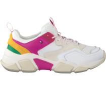 Weiße Tommy Hilfiger Sneaker Wmns Chunky Sneaker