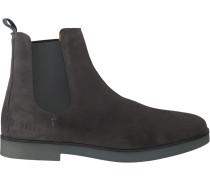 Graue Nubikk Chelsea Boots Logan Chelsea