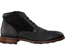 Schwarze Rehab Business Schuhe Lennon Kris Kros