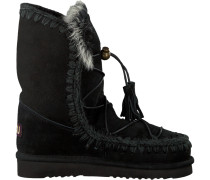 Schwarze Winterstiefel Eskimo Dream Catcher Lace Up&r