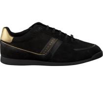 Schwarze Hugo Boss Sneaker Maze Lowp Lux2
