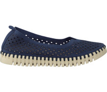 Blaue Ilse Jacobsen Slipper Tulip3775