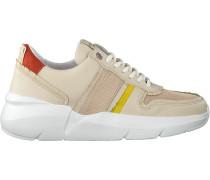 Beige Nubikk Sneaker Lucy Fringe
