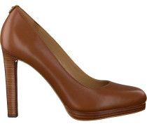 Cognacfarbene Michael Kors Pumps Ethel Pump