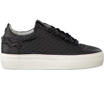Schwarze Sneaker 85234