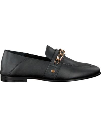 Black Tommy Hilfiger shoe Chain Detail Loafer