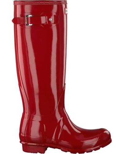 Rote Hunter Gummistiefel Womens Original Tall
