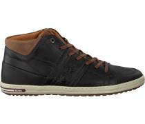 Schwarze Bjorn Borg Sneaker Curd MID M
