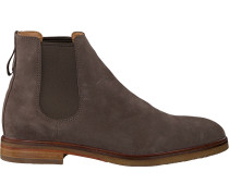Taupe Clarks Chelsea Boots Clarkdale Gobi Men