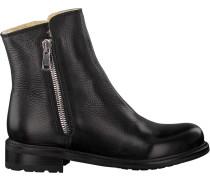 Schwarze Blackstone Ankle Boots Ql05