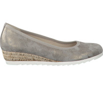 Taupe Gabor Pumps 641