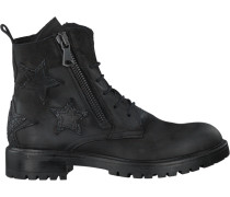 Schwarze Bronx Ankle Boots 46929