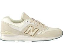 Weiße New Balance Sneaker Wl697
