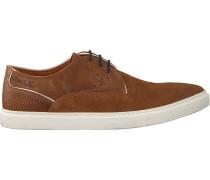 Cognacfarbene Van Lier Business Schuhe 1919401