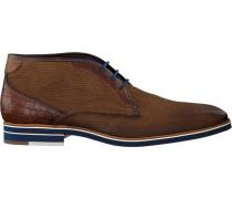Cognacfarbene Braend Business Schuhe 24508