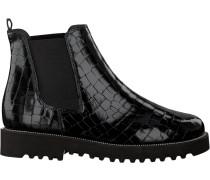 Schwarze Paul Green Chelsea Boots 9428